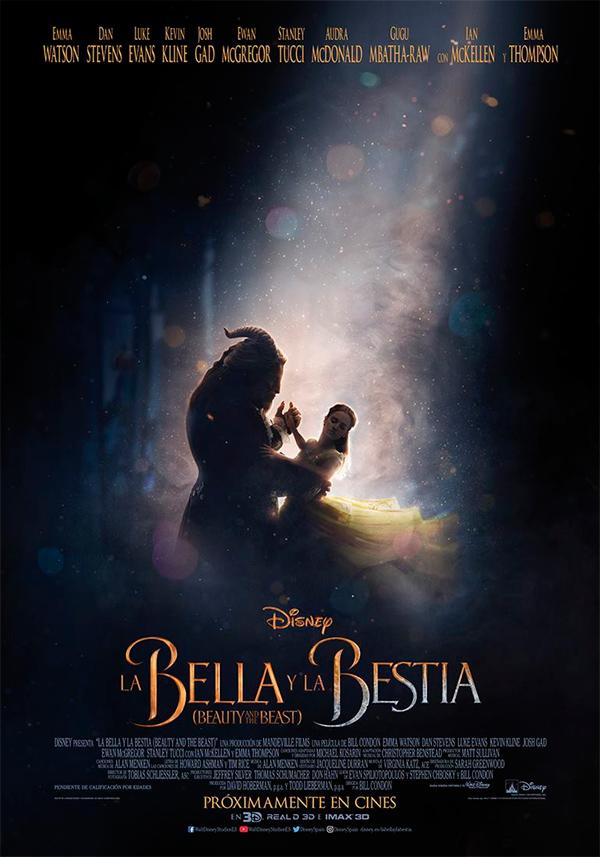 La Bella y la Bestia - Póster en español