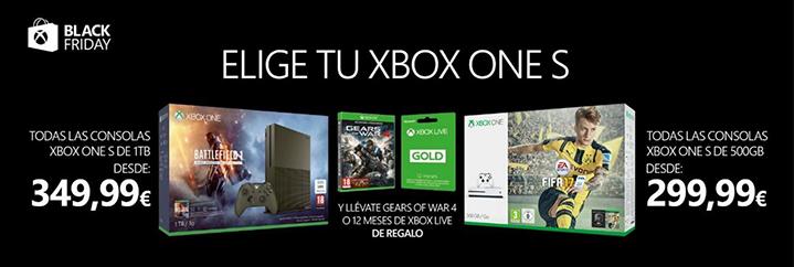 Black Friday 2016 Xbox One