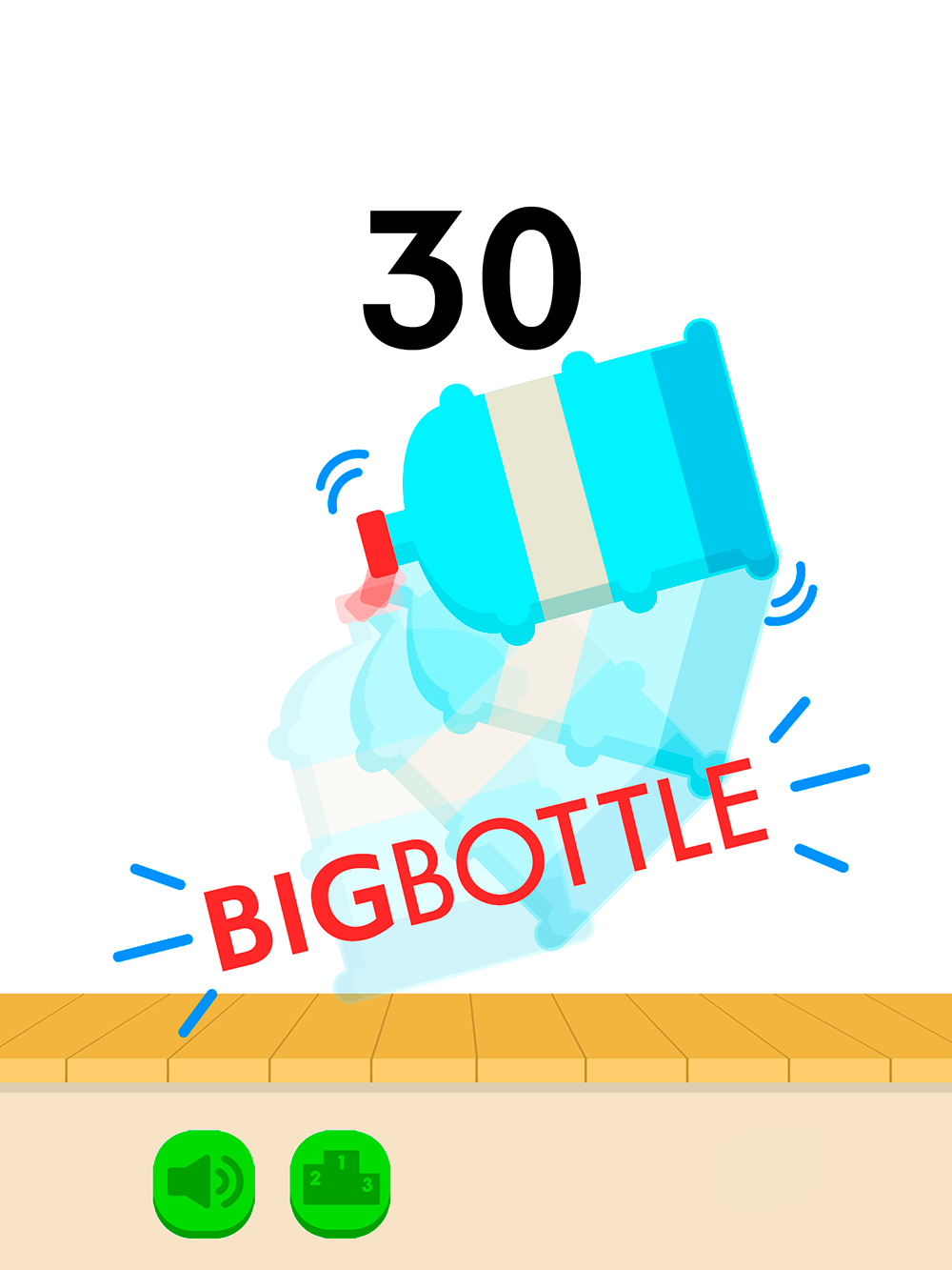 Bottle Flip Challenge (iOS, Android)