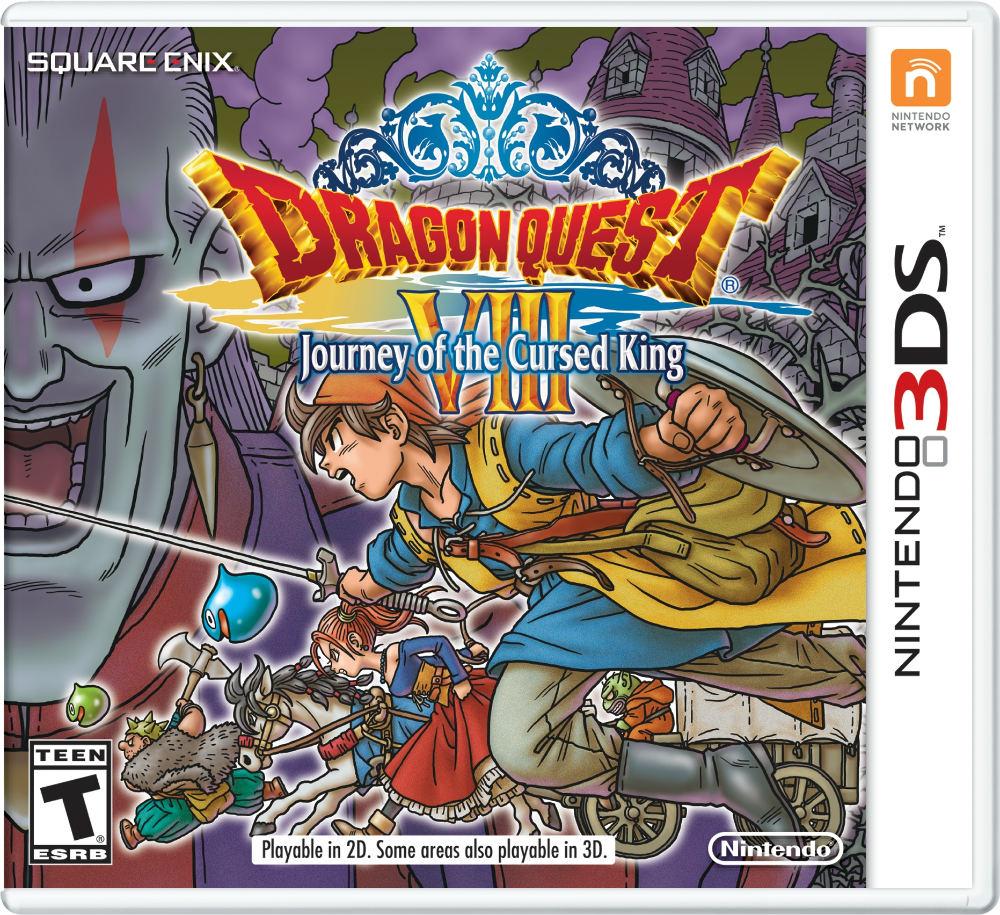 Carátula de Dragon Quest VIII El Periplo del Rey Maldito