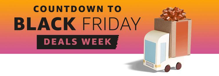 Cuenta atrás de Amazon para el Black Friday