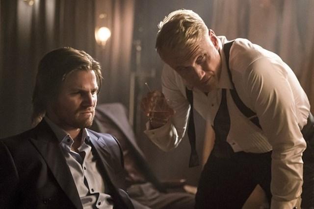 Dolph Lundgren en Arrow temporada 5