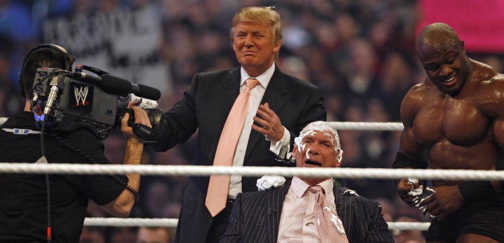 Donald Trump en la WWE