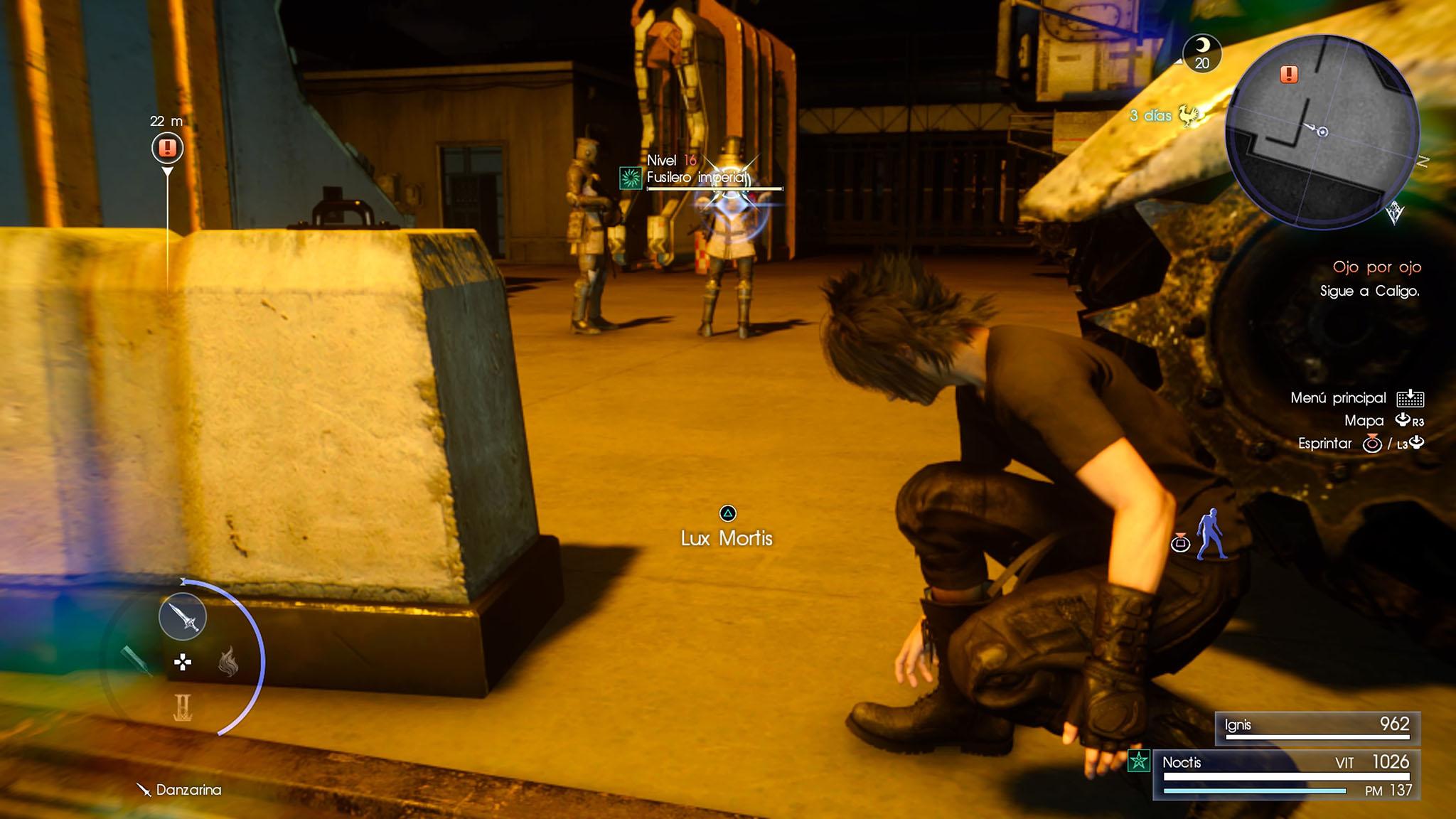 Final Fantasy XV Análisis