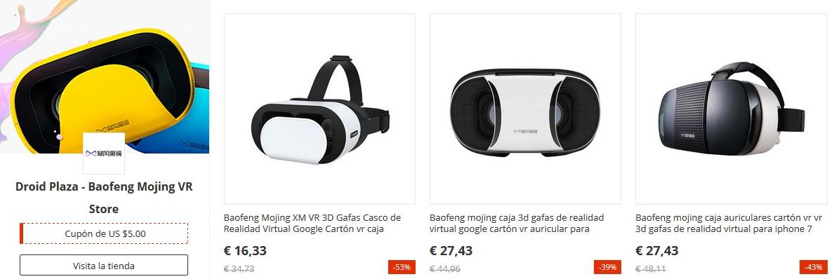 Las gafas VR de Baofeng Mojing VR estarán en oferta el 11 del 11 de AliExpress