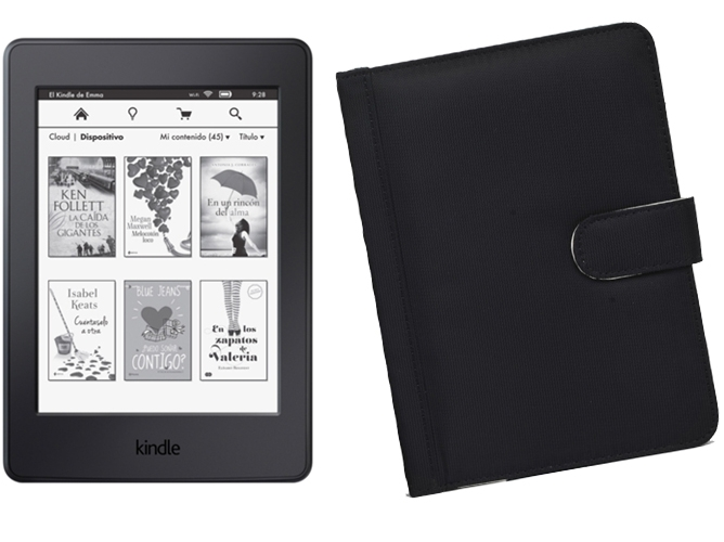 Kindle Paperwhite 4 GB + Funda Negra