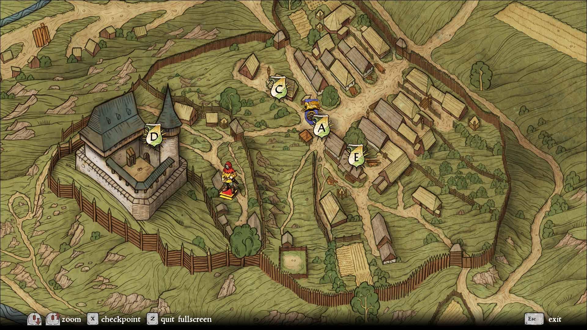 KC:D Mapa
