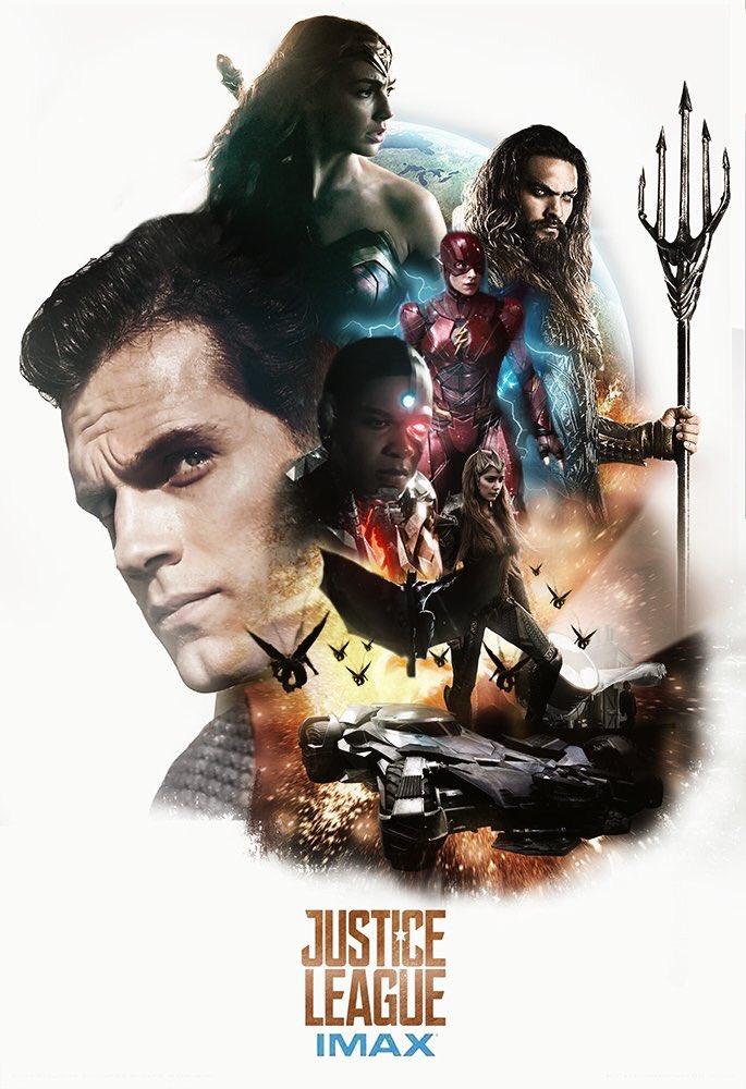 La Liga de la Justicia - Póster fan made