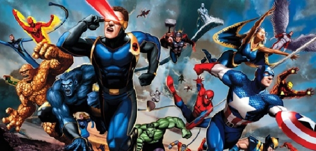 Marvel: Vengadores y X-Men