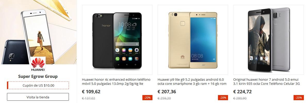 Los móviles Huawei estarán de oferta en el 11 del 11 de AliExpress