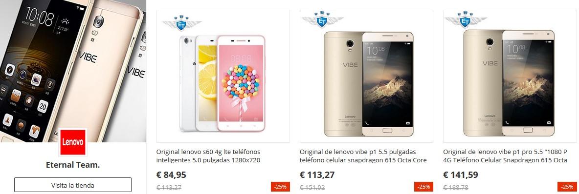 Los móviles Lenovo estarán de oferta en el 11 del 11 de AliExpress