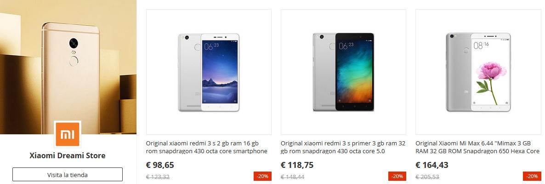 Los móviles Xiaomi estarán de oferta en el 11 del 11 de AliExpress