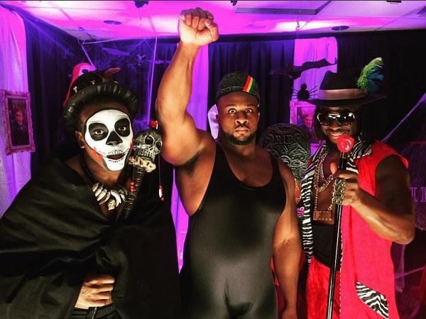 The New Day se disfrazan de iconos afroamericanos por Halloween
