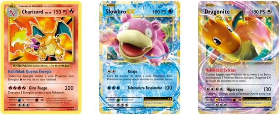 Nuevas cartas Pokémon XY-Evoluciones