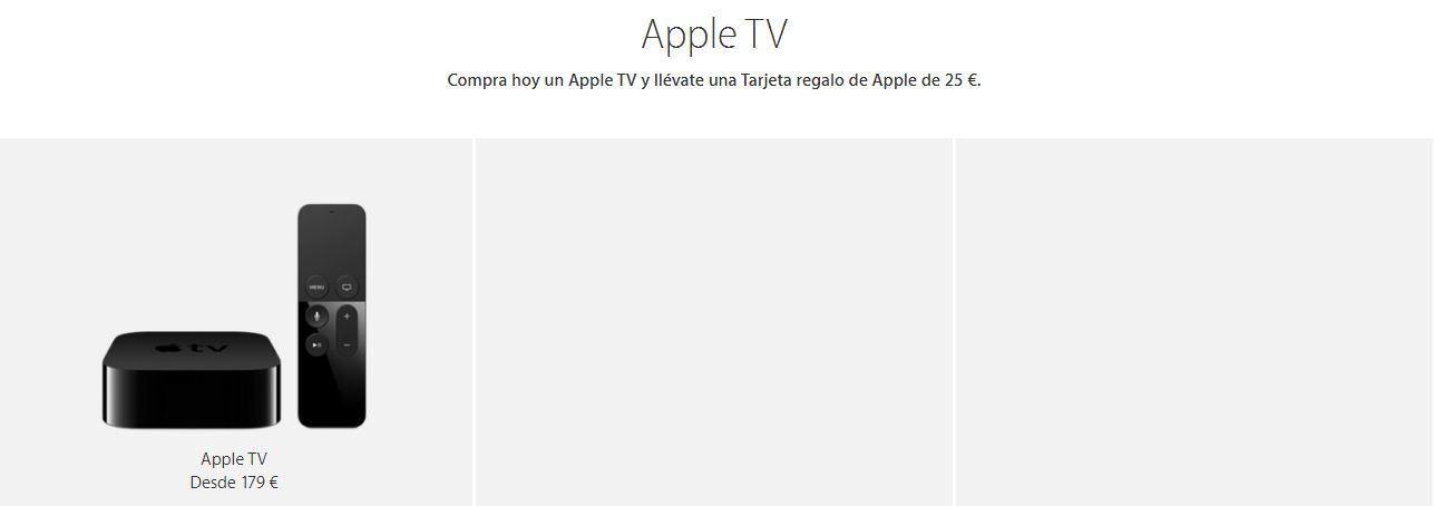 Ofertas en Apple TV