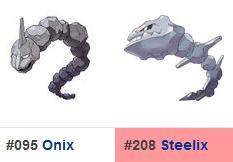 Pokémon Go - Onix/Steelix