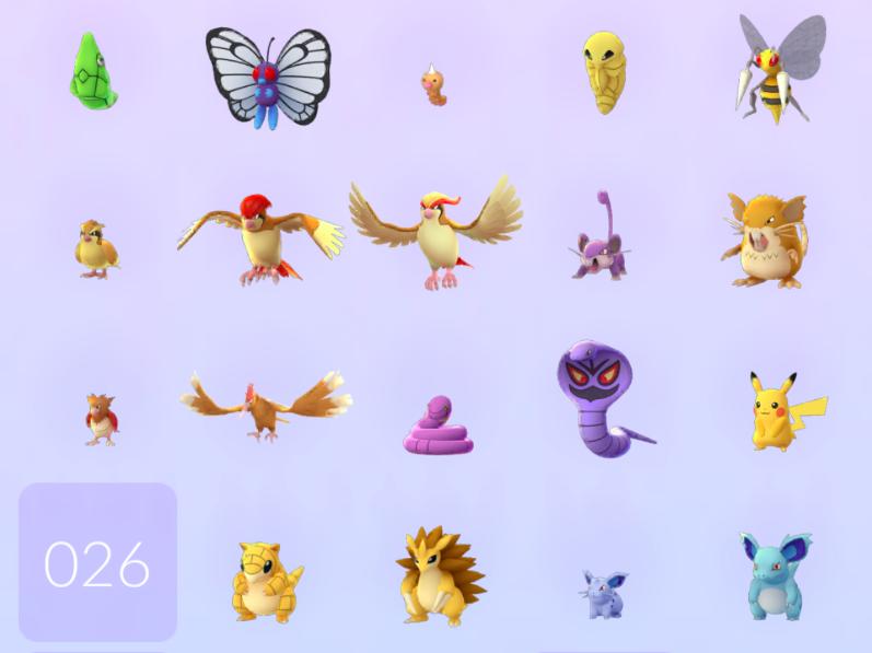 Pokémon GO segunda generacion