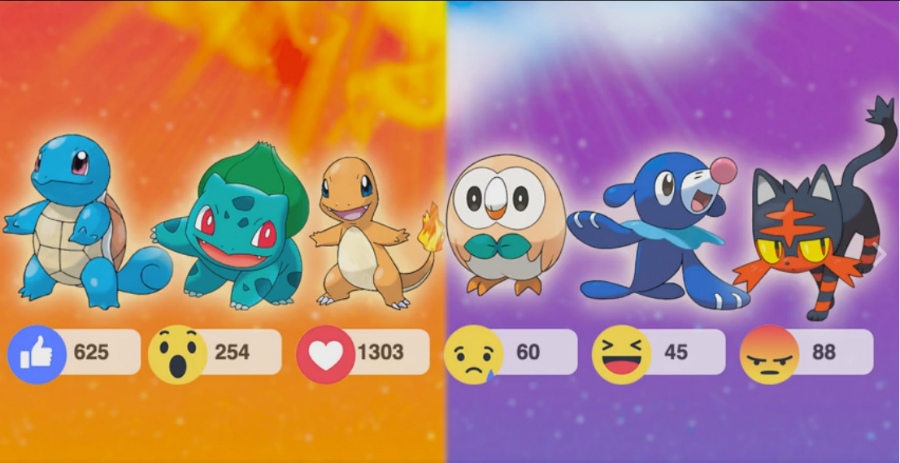 Pokémon iniciales favoritos