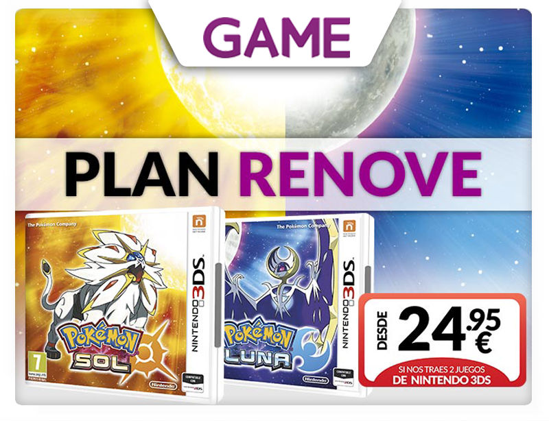 Pokémon Sol y Pokémon Luna en GAME