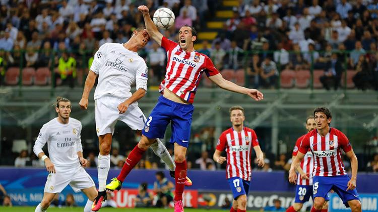 Atlético de Madrid, derbi, Calderón