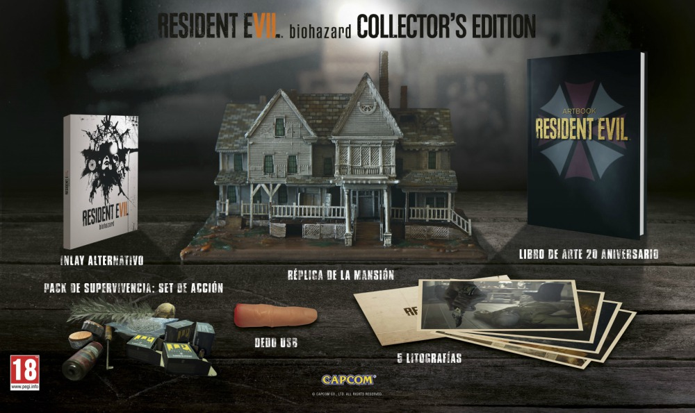 Resident Evil 7 Edición para Coleccionistas