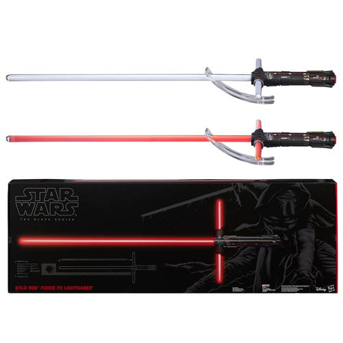 Kylo Ren star wars sable black series