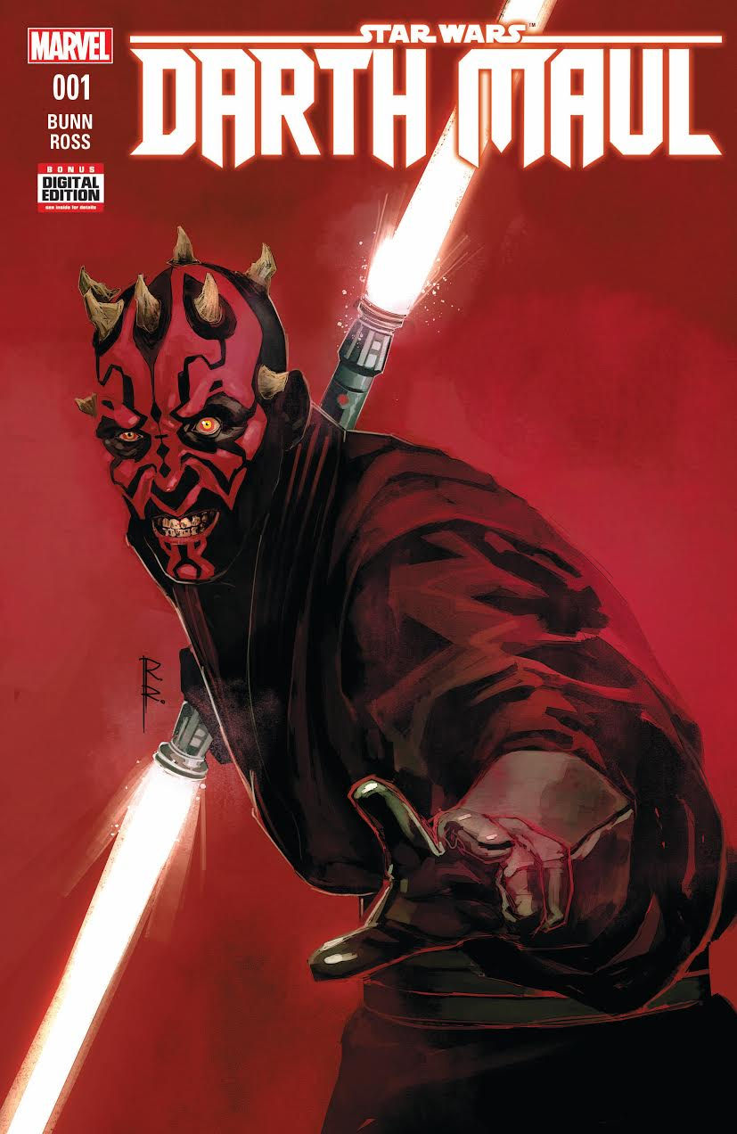 Darth Maul. Nueva serie limitada Star Wars