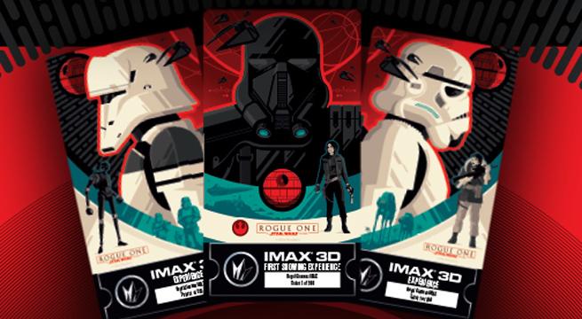 Entradas, IMAX