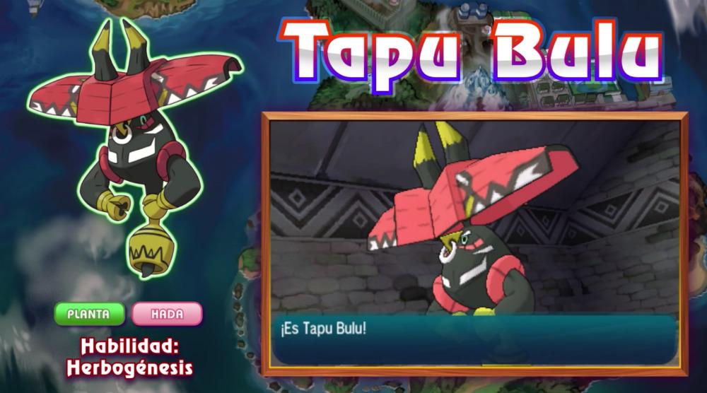 Tapu Bulu - Pokémon Sol y Luna