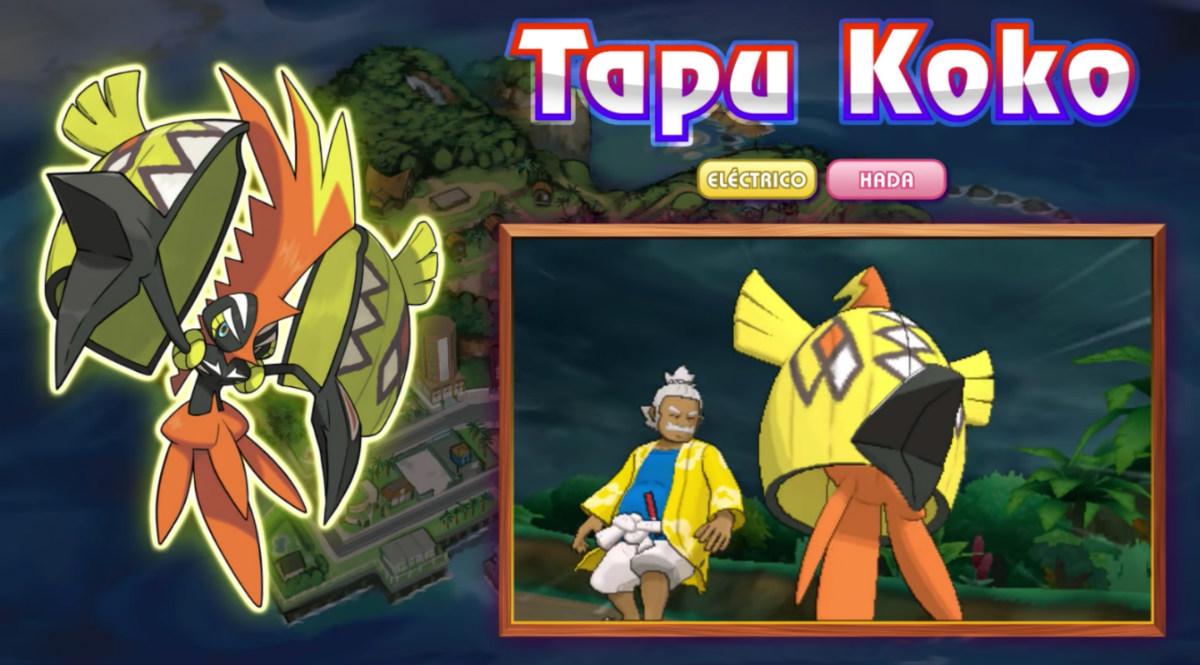 Tapu Koko - Pokémon Sol y Luna
