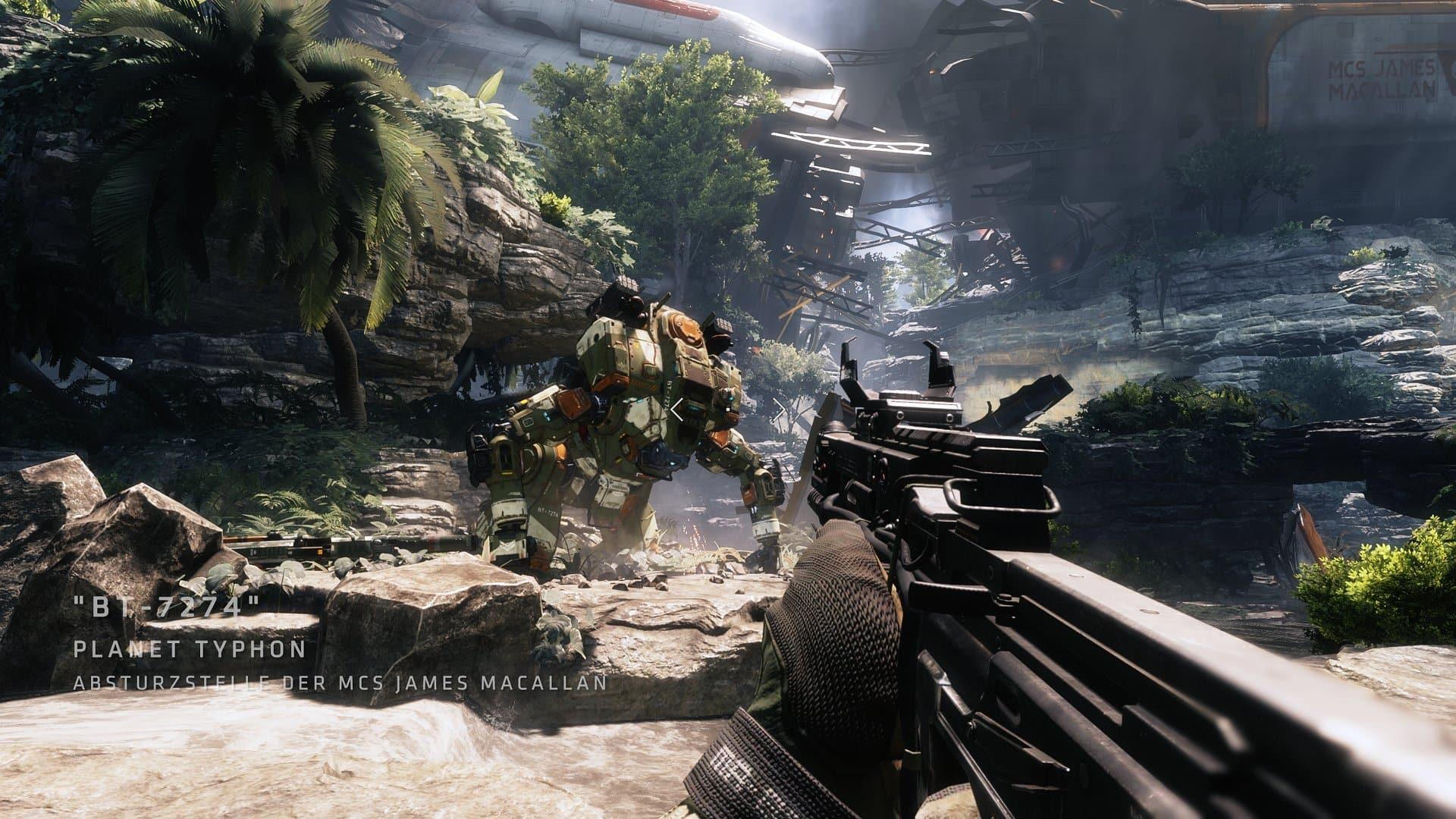Titanfall 2 en PS4 Pro