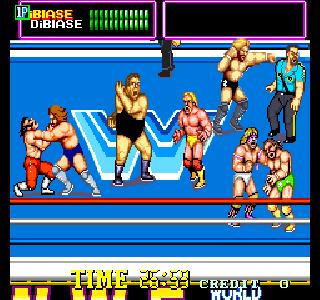 Los Mejores Juegos De Lucha Libre Retro En Recreativas Y Consolas