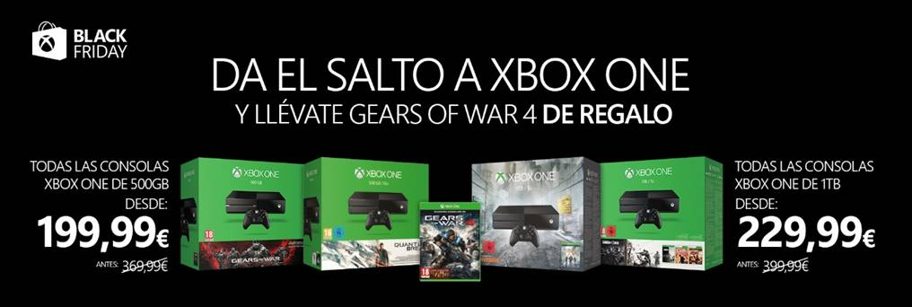 Xbox One Black Friday 2016