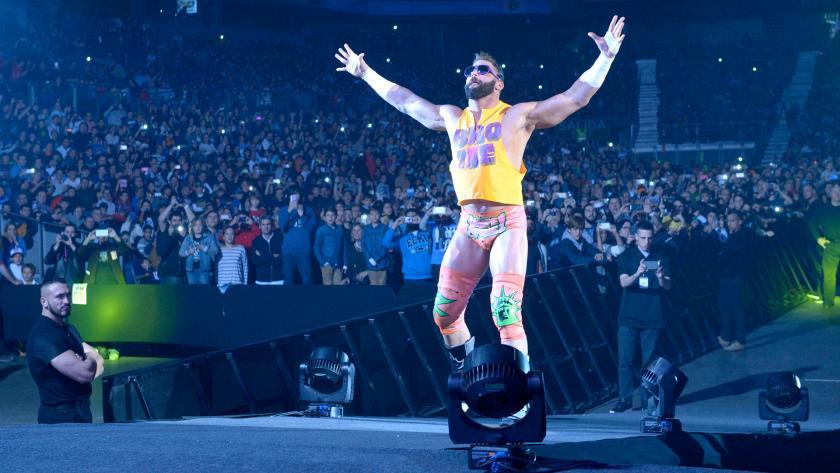 WWE - Zack Ryder, miembro del equipo Hype Bros