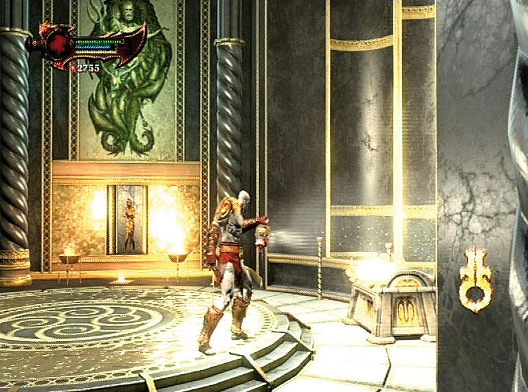 God of war iii cofres y objetos coleccionables gu as y for God of war 3 jardines superiores