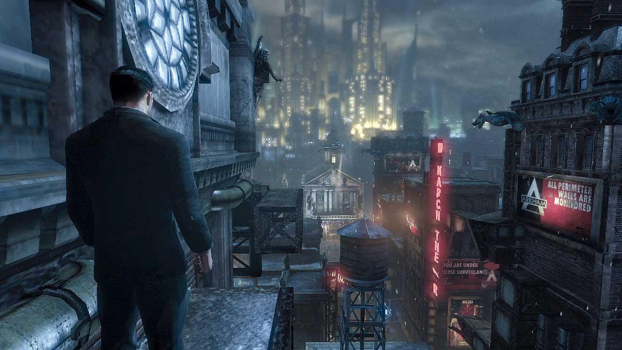 Batman Arkham City - 02. Trepa a lo alto del edificio Ace Chemicals ...