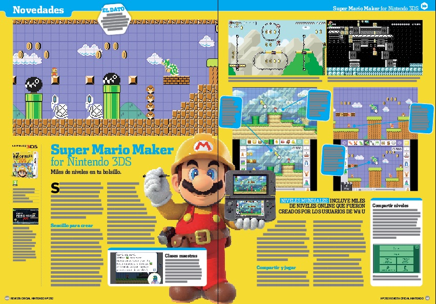 Análisis de Super Mario Maker for Nintendo 3DS