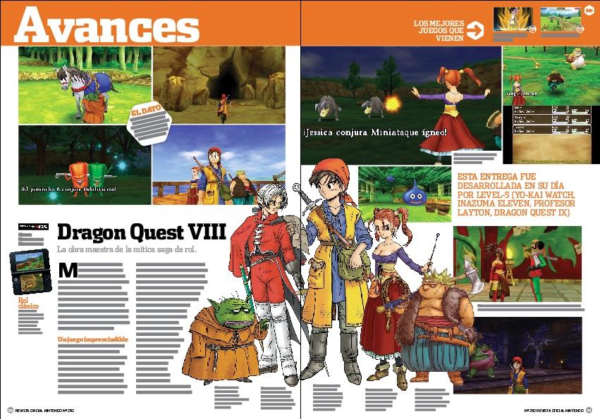 Avance Dragon Quest VIII El Periplo del Rey Maldito