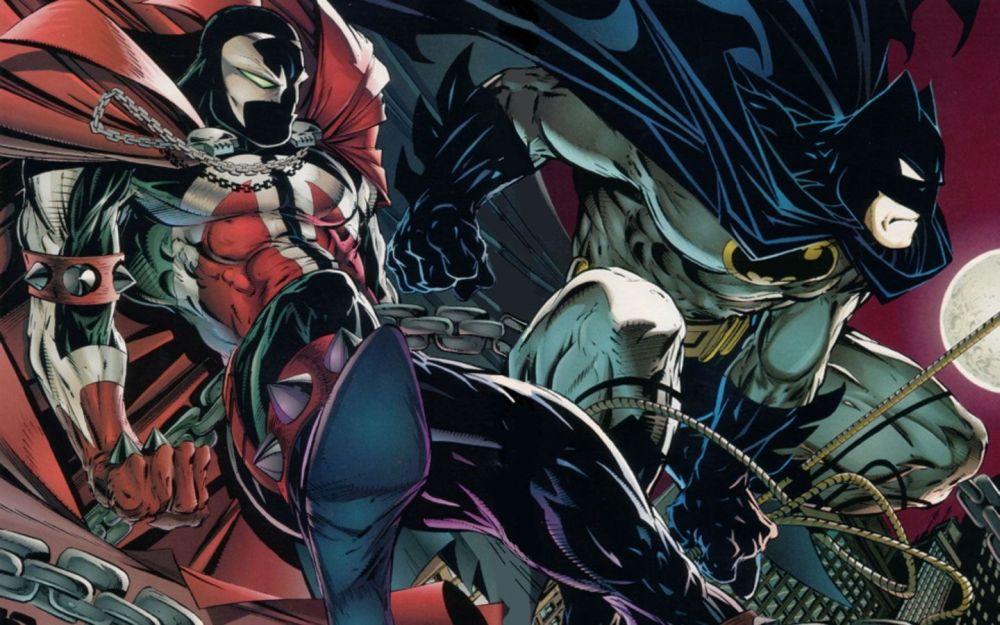 Batman y Spawn juntos