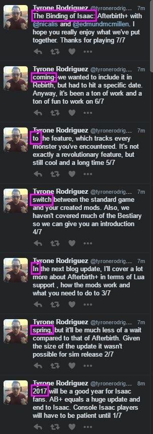 The Binding of Isaac Rebirth+ en Nintendo Switch
