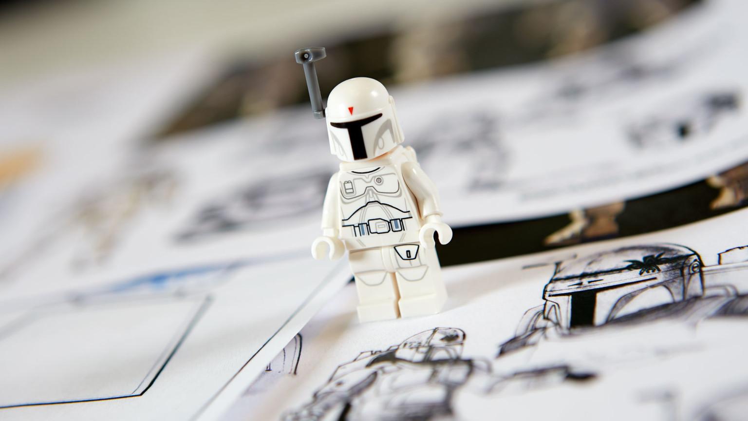 Lego Star Wars enciclopedia de personajes ampliada, Minifigura
