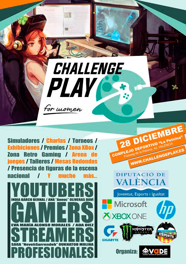 Challenge Play for Women - Cartel