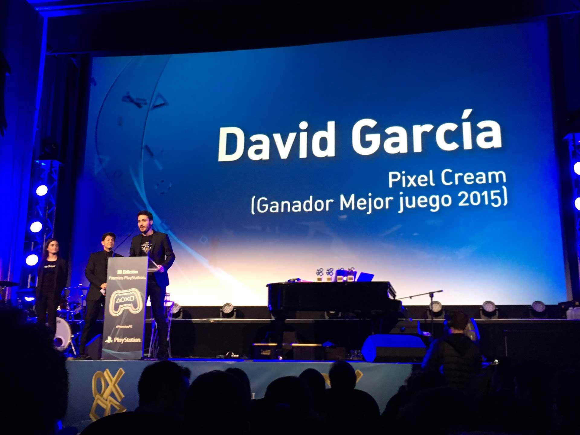 David García, de pixel cream