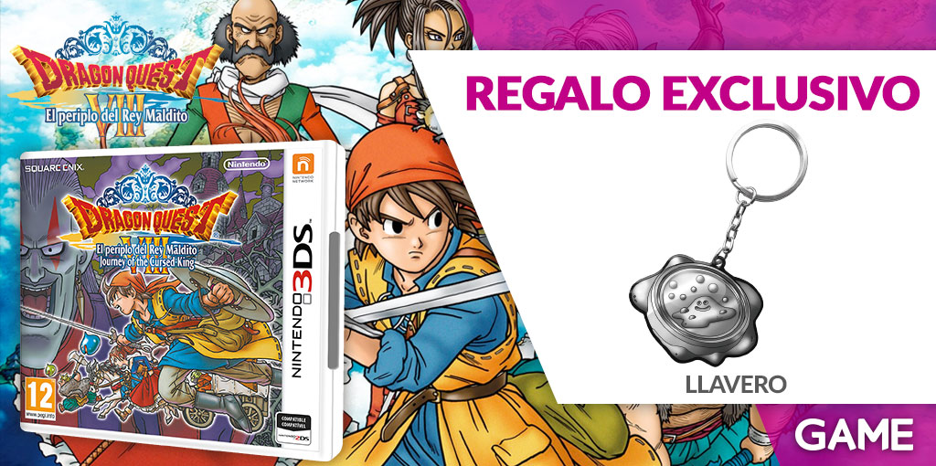 Dragon Quest VIII El Periplo del Rey Maldito 3DS - Regalo de reserva en GAME
