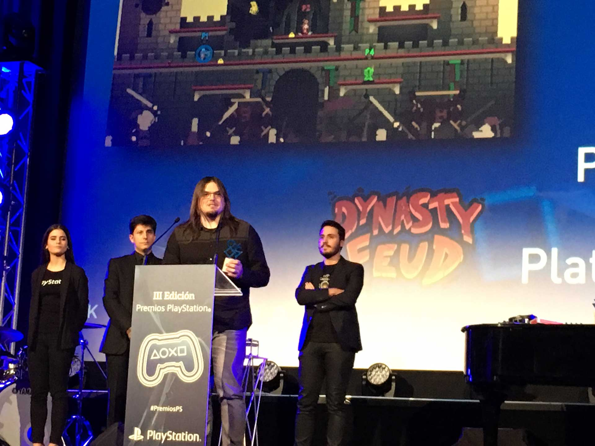 Dynasty Feud mejor uso plataformas playstation