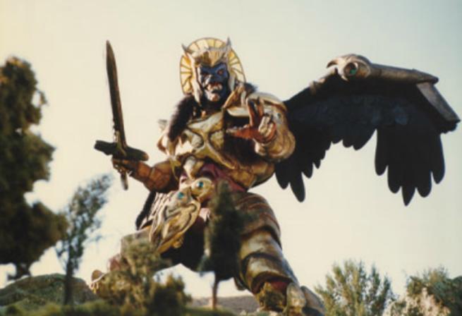 Goldar de los Power Rangers