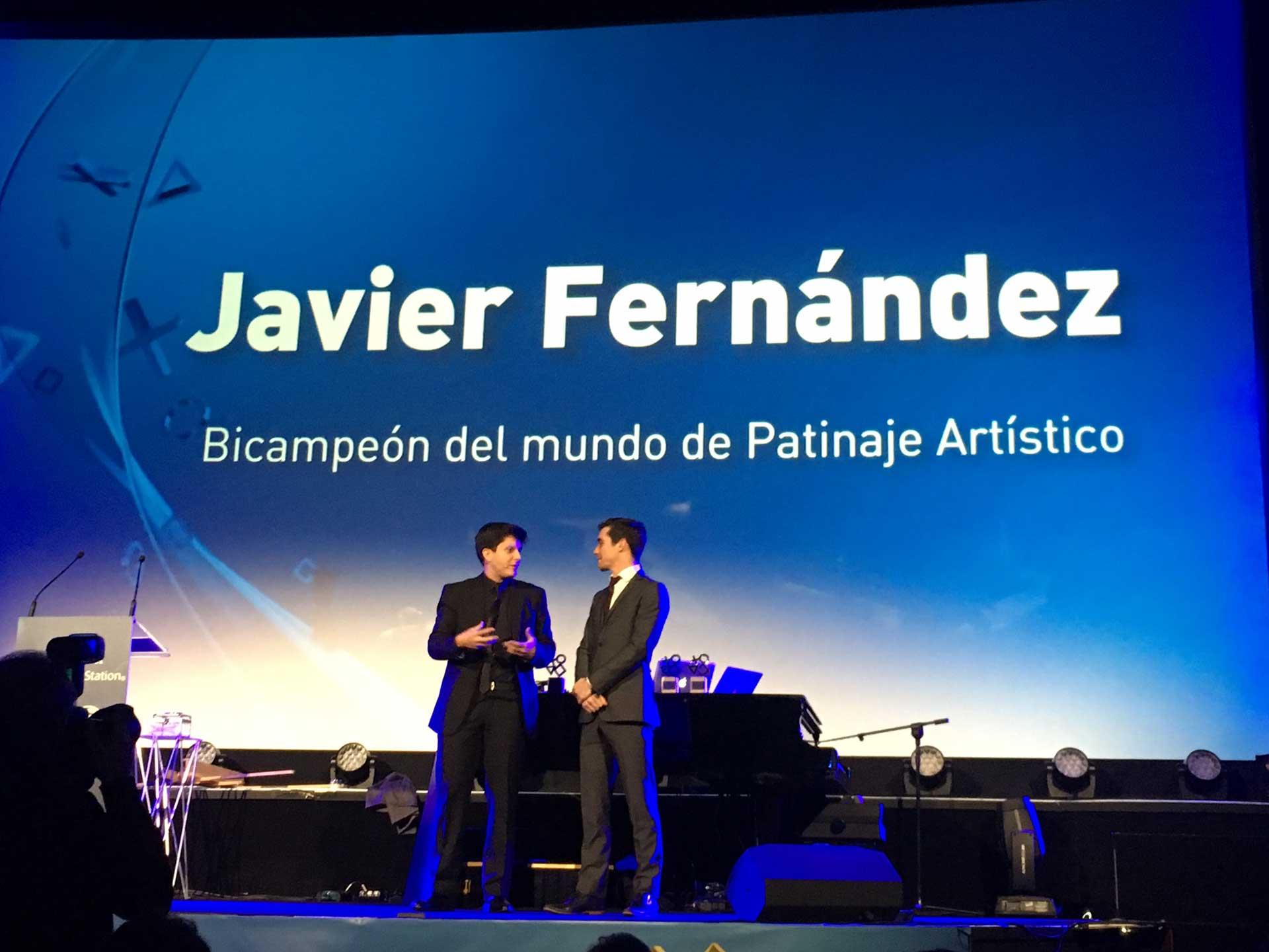 Javier Fernández Premios PS