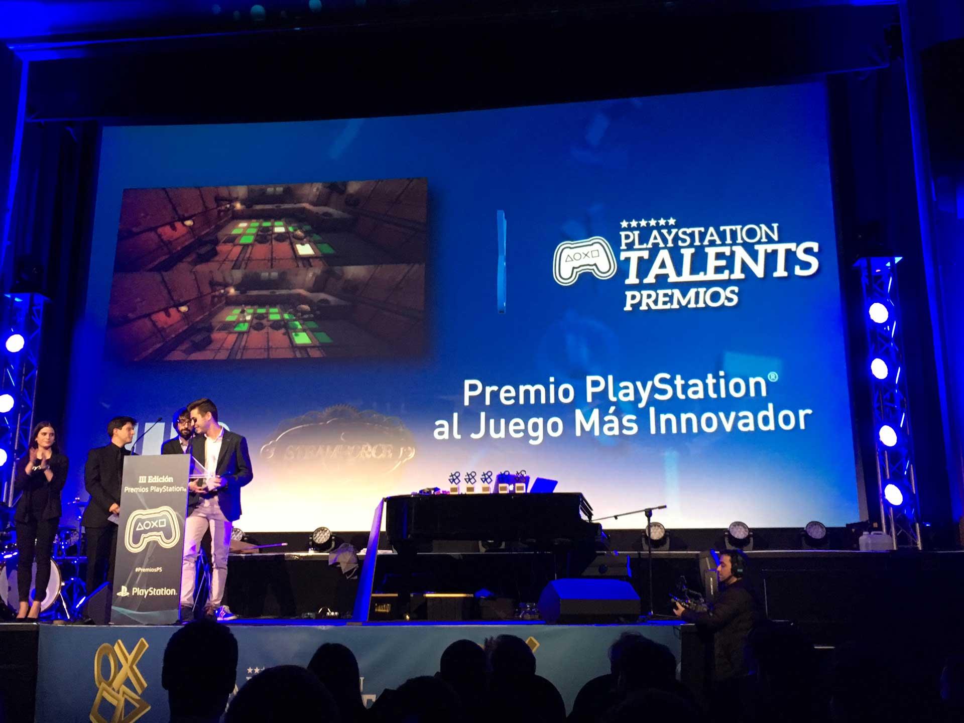 Juego más innovador premios PS