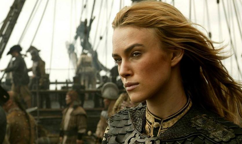 Piratas del Caribe, Elizabeth, pirata