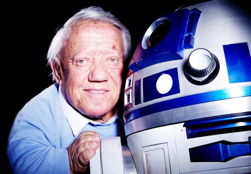 Kenny Baker interpretó al querido R2-D2 en las seis primeras películas de Star Wars